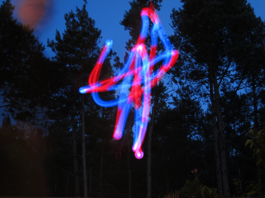 automated Light Painting